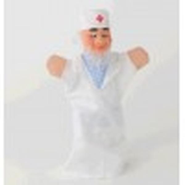 """Лялька-рукавиця """"АЙБОЛИТЬ"""" (пластизоль, тканина)   Артикул: 10100721"""
