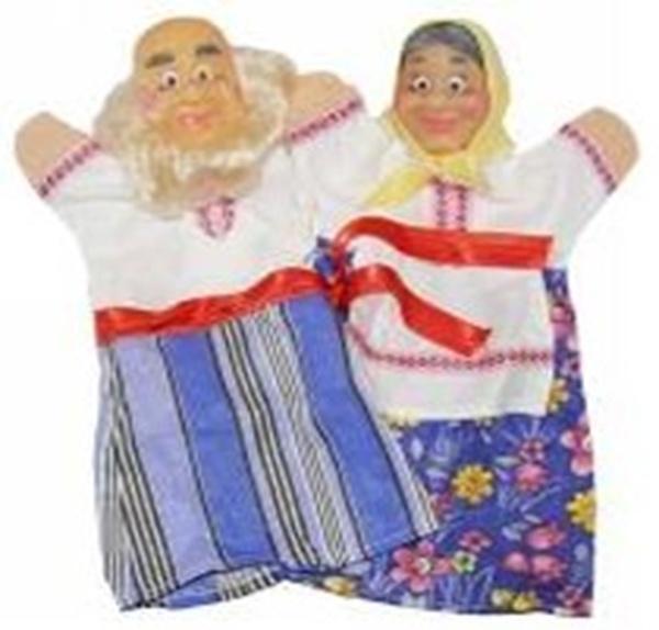 """Набір ляльок-рукавиць """"ДІД І БАБКА"""" (2 персонажі)   Артикул: 10107172"""