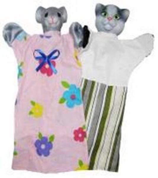 "Набір ляльок-рукавиць ""КІТ І МИШКА"" (2 персонажі)   Артикул: 10108182"
