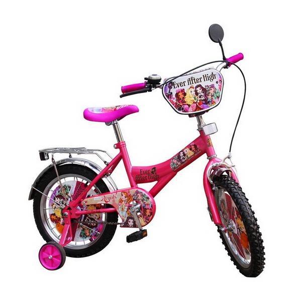 "Велосипед 16"" детский мульт 151614 (1) со звонком, зеркалом, руч. тормоз   Артикул: 11041591"