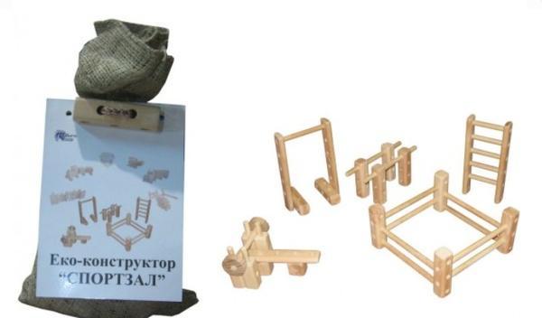 """Еко-конструктор """"Спортзал""""   Артикул: 13172011"""