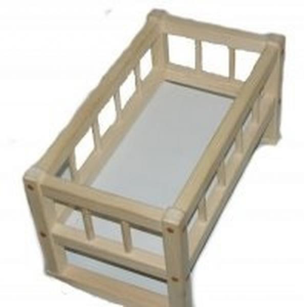 Кроватка для кукол 25*45*35смм(разобранная) СМЕРЕКА   Артикул: 13254536