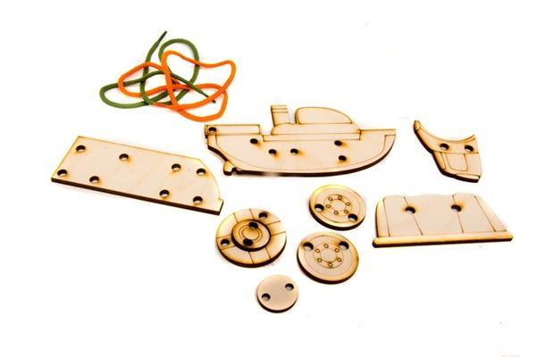 Дерев'яна шнурівочка: Шнурівочка-Розвивалочка   Артикул: 13456982