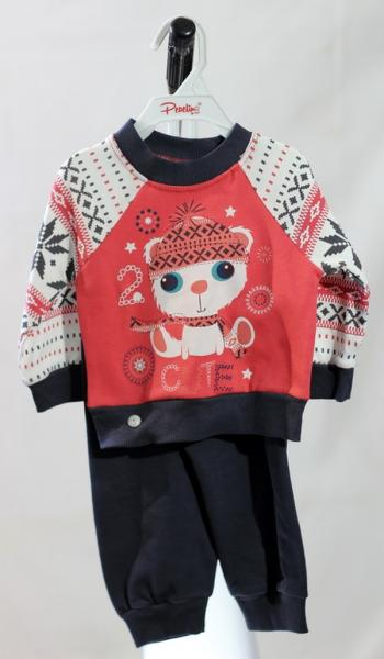 Спортивный костюм для девочек Pepelino(2650), 68-74 см, (Турция)   Артикул: 14026506