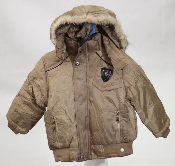 Куртка для мальчиков, Wanjiama, 14,  коричневый, (Китай)   Артикул: 14035414