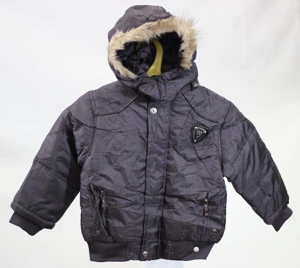 Куртка для мальчиков, Wanjiama, 16,  черный, (Китай)   Артикул: 14035516