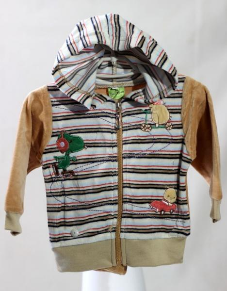 Спортивный костюм для мальчиков Feelibear,  М, коричневый ,(Китай)   Артикул: 14037034