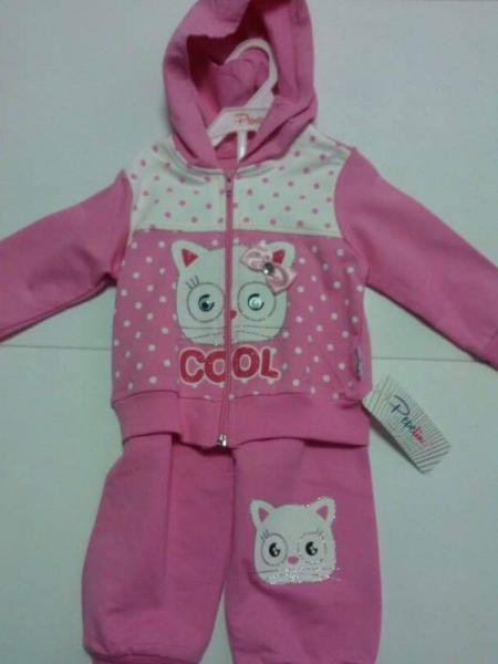Спортивный костюм для девочек Pepelino(2675), 68-74 см, розовый, (Турция)   Артикул: 14126756