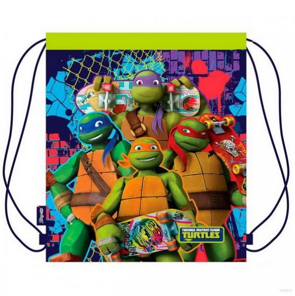 """Сумка для взуття SB-03 """"Ninja turtles"""", 35*40см   Артикул: 14531171"""