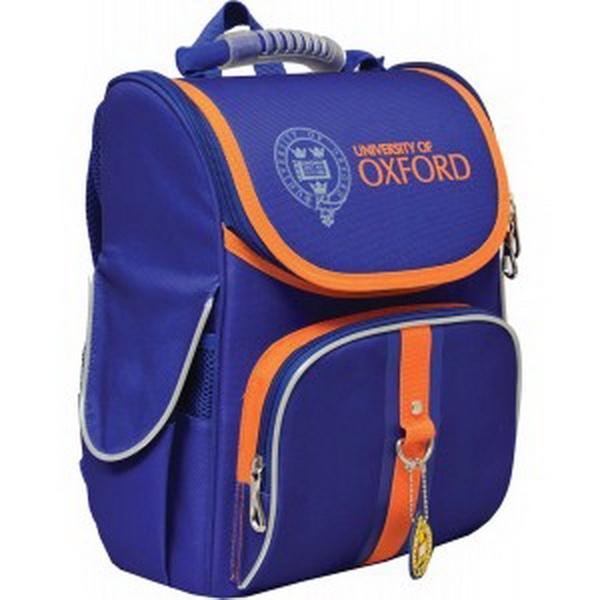 """Ранець шк. 1Вересня """"Oxford blue"""" тв.спин. H-11 34*26*14см   Артикул: 14552743"""