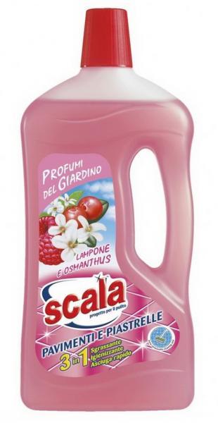 Засіб для миття поверхні підлоги з ароматом малини 1л (12pz)   Артикул: 17020001
