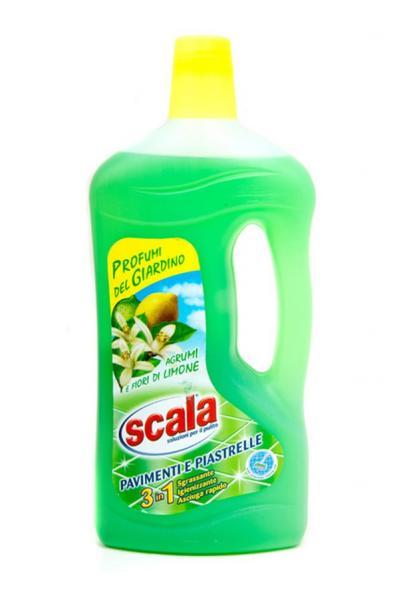 Засіб для миття поверхні підлоги з ароматом зелених цитрусових 1л (12pz)   Артикул: 17020002