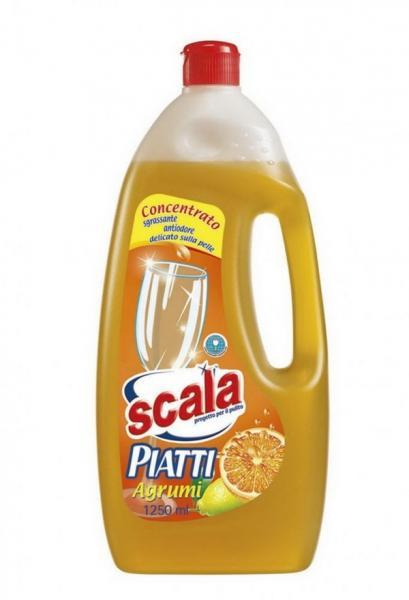 Засіб для ручного миття посуду з ароматом апельсина 1,25л  (12pz)   Артикул: 17020011