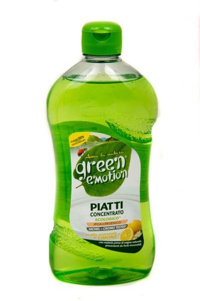 ЕКО засіб для миття посуду конц. з ароматом лимона 500 мл (10pz)   Артикул: 17020016