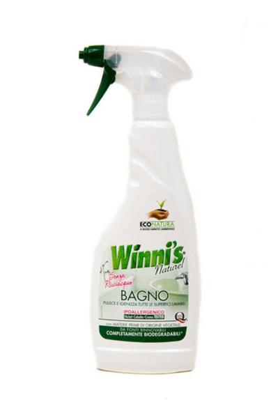 Екологічно чистий засіб для приберання ванної кімнати (12pz)   Артикул: 17020088