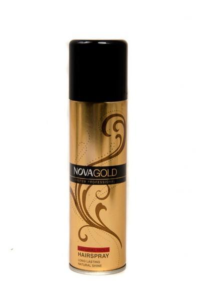 Лак для волос с протеинами «Нова Голд» «Золотистый» (12pz)   Артикул: 17020645