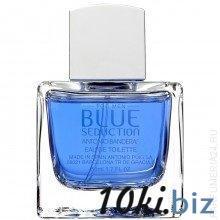 Тестер Antonio Banderas Blue Seduction For men eau de Toilette, 100 ml  купить в Вологде - Парфюмерия мужская