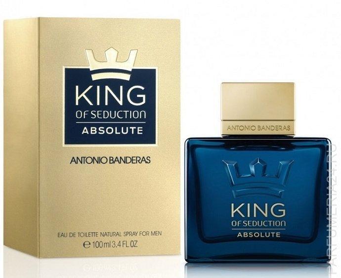 Antonio Banderas - King of Seduction Absolute, 100 ml