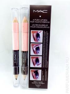 Фото косметика Двусторонний карандаш-хайлайтер для бровей M.A.C