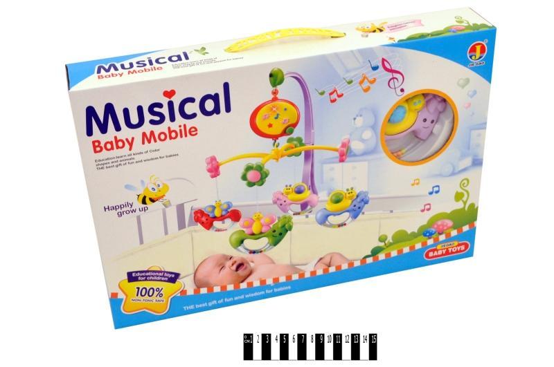 карусель  з музикою  на ліжко  6518 abcd