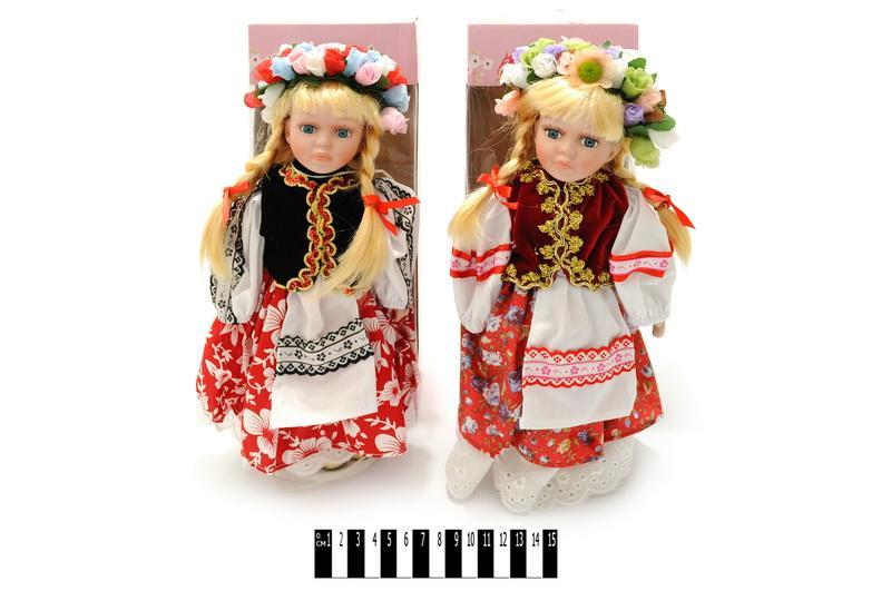 лялька  порцелян (нац. одяг)  а418а419