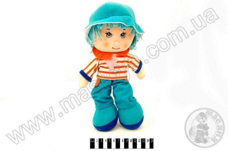 """лялька м""""яка муз. (хлопчик) r2314"""