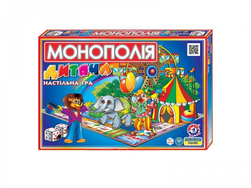 """игра настольная """"детское монополия"""""""
