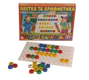 """мозаїка  """"абет.+арифм. """" 2223 1/10"""