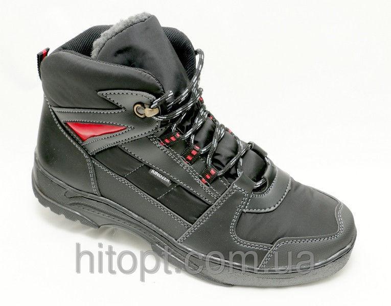 Esco Б-7KZ чёрный ботинок шнурок
