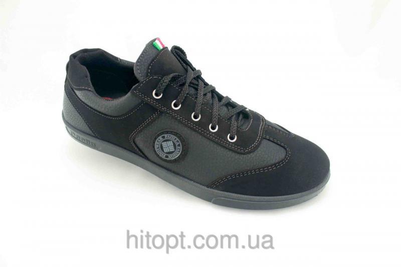 Paolla N-031 чёрный, макасин комбинированный
