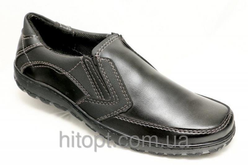 Melisa T-6г, чёрный туфель на резинке