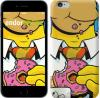 """Чехол на iPhone 7 Гомер с пончиком """"3827u-336"""""""