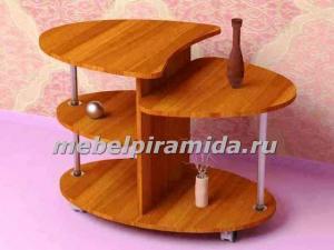 Фото  Журнальный стол Сателлит(Пирамида)