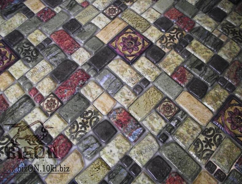 Мозаика «ТРАВЕРТИН ЛАЙМ»   Листовые панели ПВХ