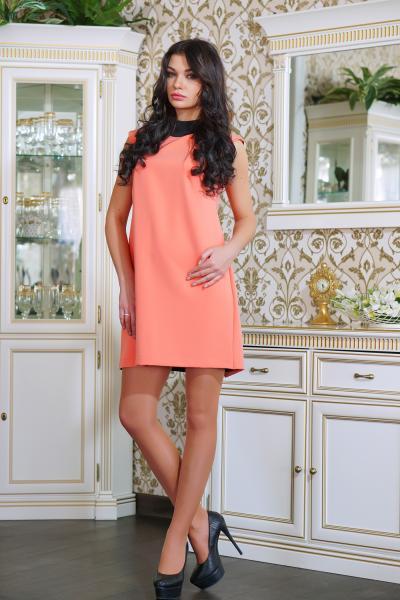 Платье коктейльное с бантиком цвет розовый  ВАЛЕНТИНО