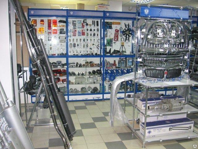 Торговое оборудование для магазина автозапчастей