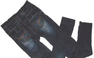 Фото Лосины, брюки  Лосины под джинс на меху