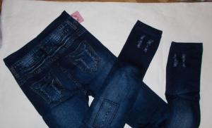 Фото Лосины, брюки  Лосины под джинс на махре