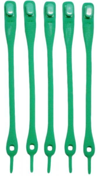 Силиконовые шнурки для обуви (Зеленые)