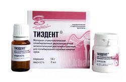 Фото Для стоматологических клиник, Материалы, Эндоматериалы Тиэдент(14г+8мл)