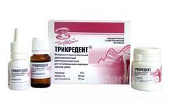 Фото Для стоматологических клиник, Материалы, Цементы Трикредент (15г+10мл+10мл)
