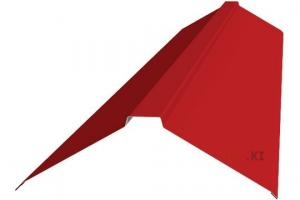 Фото Кровельные системы, Кровильная система МеталлПрофиль, Элементы отделки Металл Профиль, Планка плоского конька 120х120х2000 Планка конька плоского Полиэстер