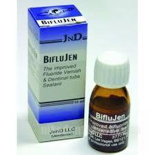 Фото Для стоматологических клиник, Материалы, Лечебные и профилактические материалы Biflu-Jen (БифлюДжен) 10 мл жидкость для фторирования