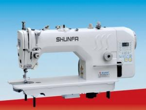 Фото              Прямострочные 1-игольные машины челночного стежка Shunfa SF9700M-D4