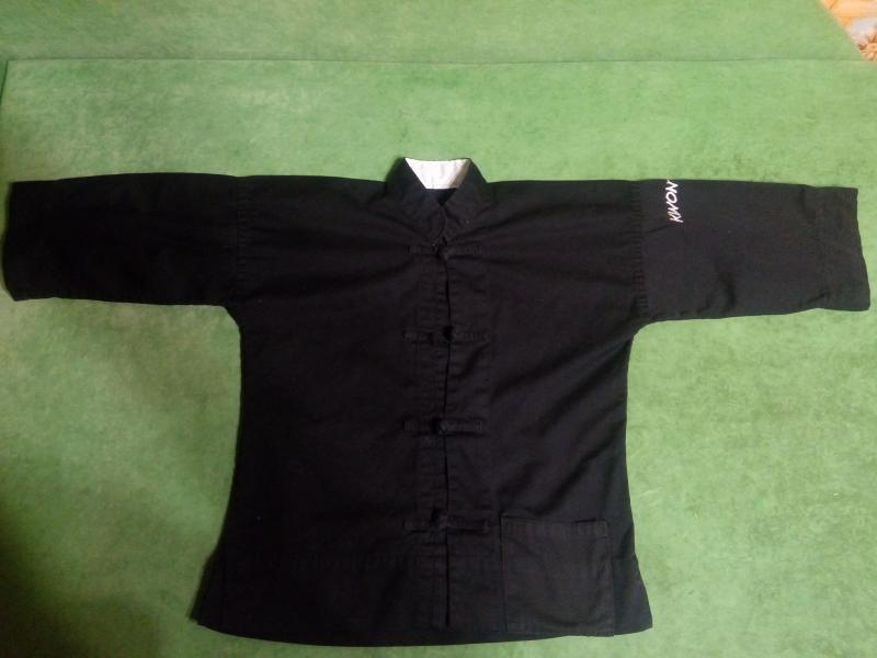 Кимоно черное для восточных единоборств