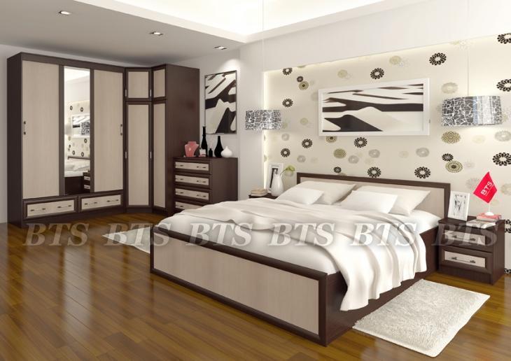 Модульная система для спальни Модерн( BTS МЕБЕЛЬ)
