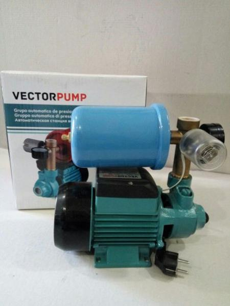 Автоматическая насосная станция VECTOR PQ40 (WZ250) + 2L бак, министанция, 400 Вт