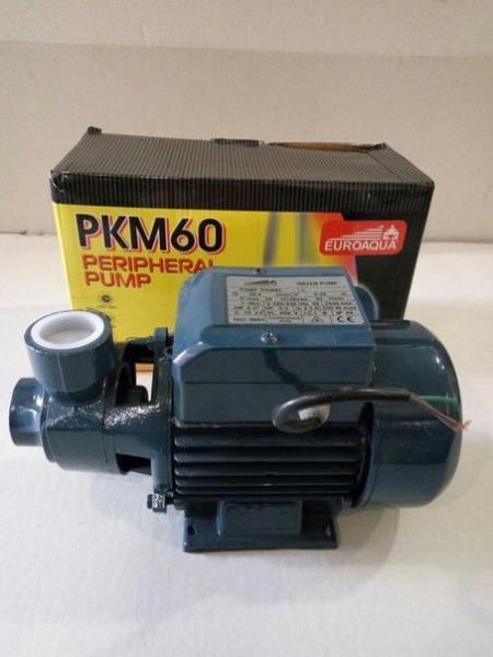Поверхностный центробежный насос EUROAQUA PKM60, QB60, вихревой, 370 вт
