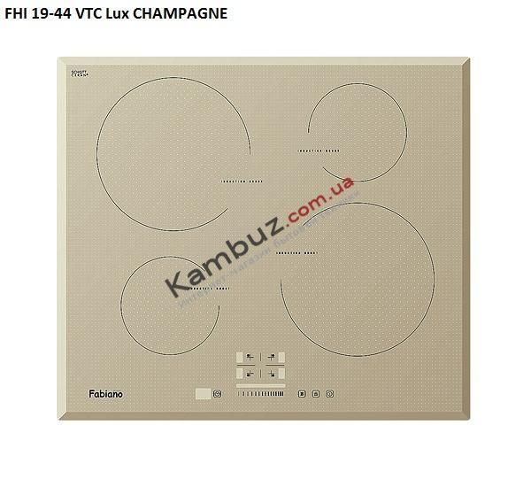 Варочная поверхность индукционная Fabiano FHI 19-44 VTC Lux Gold