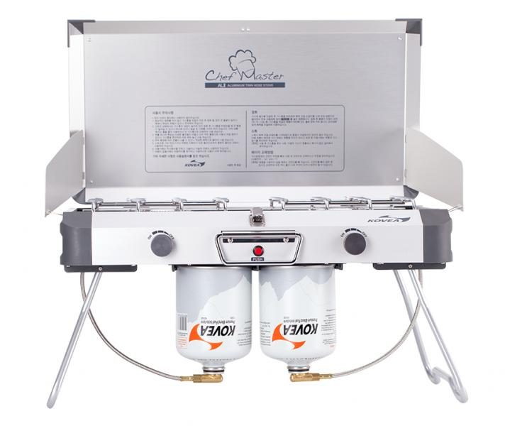 Газовая плита Kovea Grace Twin Stove (AL II Chef Master) KB-0812